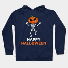 ONLY NOW $31!!! Pumpkin Dance Skeleton Halloween 2017 - Halloween - T-Shirt | TeePublic