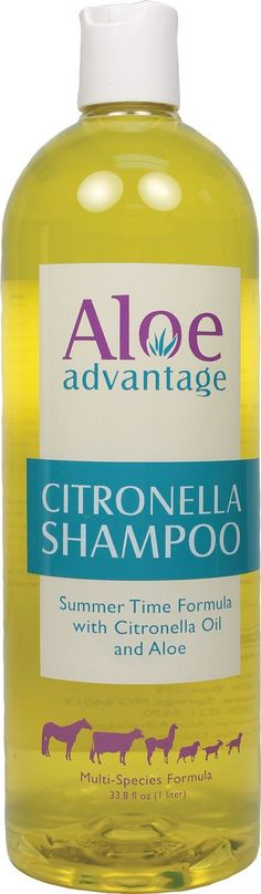 Durvet Fly D-Aloe Advantage Citronella Shampoo Concentrate 1 Liter