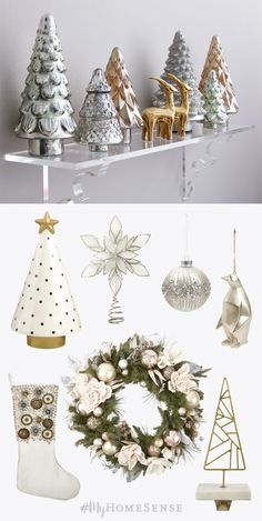 A bit of embellishment goes a long way - or a lot, depending on your holiday style! Marble, metallics, beading, and jewels: find it all and more at a HomeSense near you!
