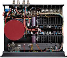 Parasound Halo 2.1 Channel Integrated Amplifier - Inside Components