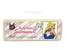 Sailor Moon Japanese Pencil Box Inner Senshi Chibiusa Luna Artemis Sailormoon R Case - Click Image to Close
