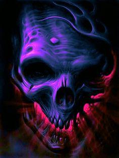 More at Mike Vands 😈 Skull Hand Tattoo, Skull Tattoo Design, Skull Tattoos, Dark Fantasy Art, Dark Art, Totenkopf Tattoos, Harley Davidson Art, Skull Pictures, Skull Artwork