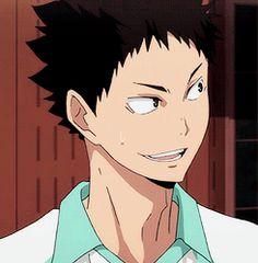 """tadaomii: """" """" """" Iwaizumi Hajime """" """""""