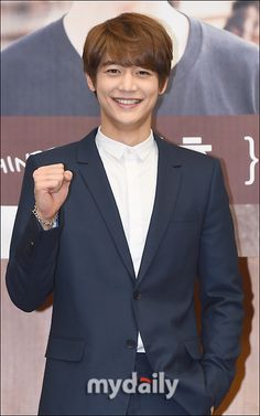 150409 Minho - KBS 2TV 'Fluttering India' Press Conference
