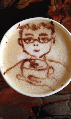 Latte Art, the coffee guy