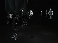 Suspended Sculptures of Incomplete, Typographic Men - My Modern Metropolis