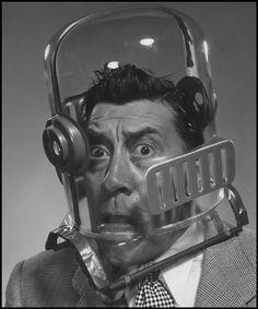 Philippe Halsman, Portrait de Fernandel, 1948, © Philippe Halsman