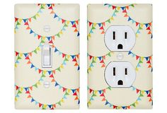 Bunting Switch Plate