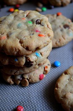 SOFT PUDDING MONSTER COOKIES