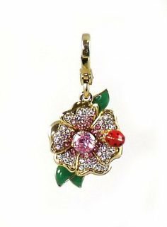 Juicy Couture FLOWER CHARM Gold, Pink, Yellow & Green on sale at The Bagtique http://www.amazon.com/dp/B00CKB89WI/ref=cm_sw_r_pi_dp_4Mcytb0PDQEKZMHE