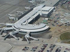 Aerial view of Edmonton International Airport is situated about 35km south of Edmonton's central business district. Check out more @ http://www.airport-technology.com/projects/edmonton-international-airport