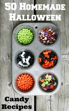 50 Homemade Halloween Candy Recipes