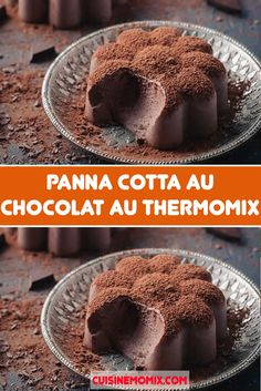 Dessert Thermomix, I Love Food, Tiramisu, Pudding, Cooking, Breakfast, Connect, Recipes, Chocolate Panna Cotta