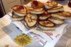 Russische Buttermilch-Pfannkuchen (Oladji)