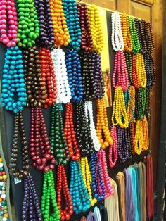 strings of beads - necklaces