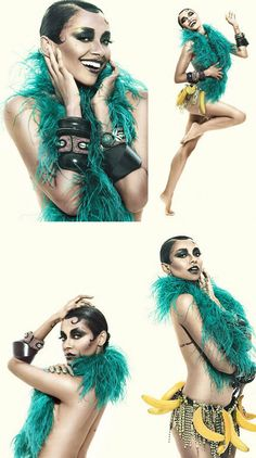"""""""Shooting with Sutan was incredible,"""" says Kat. """"He has the eye of a true artist, and the skill of a performer himself."""""""