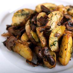 Pommes de terre boulangères au vin rouge