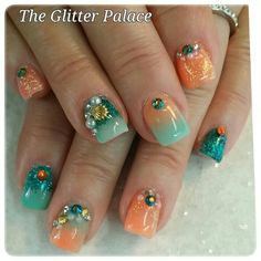 Acrylic nails by Kristal & The Glitter Palace