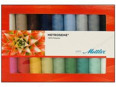 Mettler Thread Gift Set ~ May  be a great way to try this thread. I've been reading lots of positive feedback.