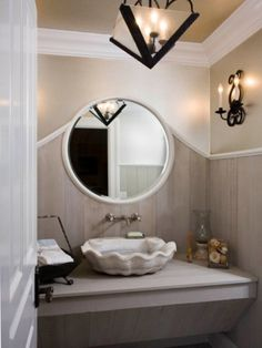 making a shell sink cool
