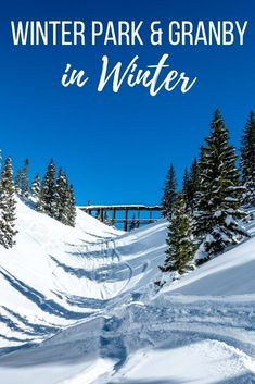 Grand County is Colorado's outdoor winter playground. Here's everything there is to do in Winter Park, Granby, and Grand Lake in the winter. #granby #winterpark #colorado
