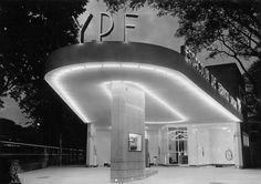 Estación de servicio, Buenos Aires 1951.