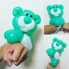 Hanging Bear/ Green                                                       …