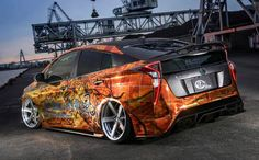 Tuned 2016 Prius with Quad Exhaust and Leather Wrap Looks Too Weird – automotive99.com