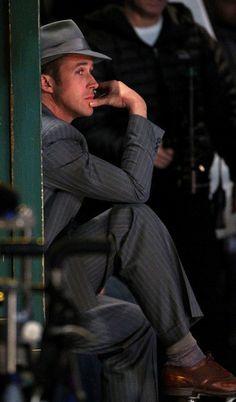 Ryan Gosling in Gangster Squad