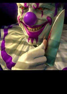 Scary Clowns, Creepy, Joker, Around The Worlds, Fictional Characters, Art, Art Background, Kunst, The Joker