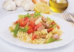 Pastwa with Tuna Tomato