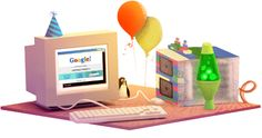 17. narodeniny Googlu #GoogleDoodle