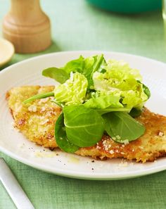 Low FODMAP and Gluten Free - Parmesan coated chicken