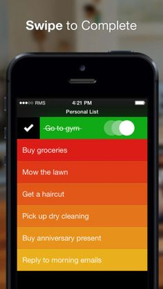 "Clear - Tasks & to-do list by Realmac software Description Featured in the App Store ""Best of 2012"" Collection  ""Clear's interface is elegant and clever…"" — The New York Times"