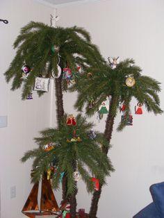 A beach Christmas tree!