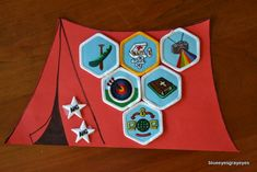 My American Heritage Girls troop's first meeting was about a week ago. There was a summer award ceremony and a crossover ceremony. An award ceremony essential: a cute way to present badges. A…