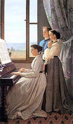 The Lyric (Il canto di uno stornello) - Silvestro Lega