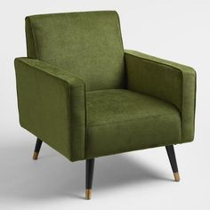 Coolest Green Armchair 83 on Interior Design Ideas For Home Design with Green Armchair