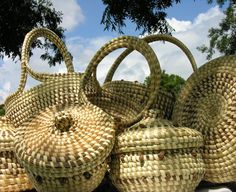 Sweetgrass baskets - Charleston