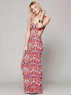 Free People Ananda Cutout Maxi Dress, $260.00