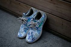 """WMNS NIKE Solarsoft Moccasin QS """"Floral Pack"""" - Classic Stone 