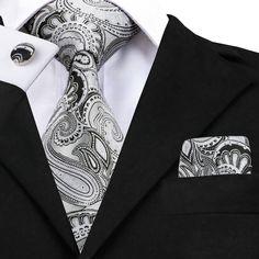 Treat yourself with one of our Tie Sets.What You Get: Tie/ Pocket Square/Pair of Cufflinks.Full Tie Length: End Hankerchief offer FREE International Shipping World Wide! Gentlemen Wear, Tie Crafts, Brown Tie, Man Weave, Tie Pattern, Paisley Tie, Cufflink Set, Mens Silk Ties, Tie Styles
