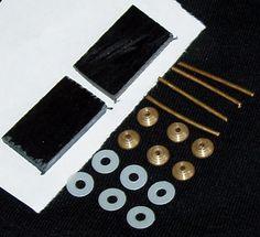 Straight Razor Restoration Hardware Set For Vintage Straight Razor Handles Parts