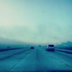 coastal fog via @happymundane • Instagram