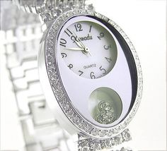 Ladies 18K Plated Floating Heart Bracelet Watch Made with SWAROVSKI Elements Xanadu. $34.20. Internal Reliability! Japanese mechanics!. NEW EXCLUSIVE water resistant ladies BLING bracelet watch!. 18K Plated bracelet band design adorned with sparkling crystals made with SWAROVSKI elements!. Exquisite case adorned with sparkling crystals made with SWAROVSKI elements!. Make a chic statement with this season's latest fashion!. Save 73% Off!