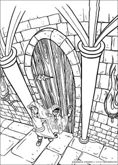 Harry Potter Coloring Page There Are Many Free In HARRY POTTER Pages Beautiful For Kids