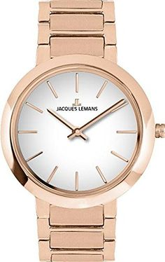 Jacques Lemans Milano 11842C Wristwatch for women Classic  Simple >>> Learn more by visiting the image link.