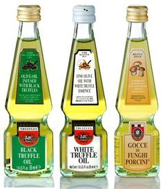 Truffle Oil set 3 x 1.8U.S.Fl.oz