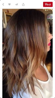 Love This Color Amazing Brunette Balayage Highlights