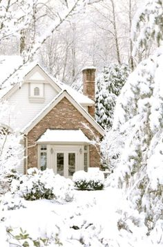 Just love staying home on a snowy winter day!